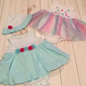 Little Me Dresses (9M)
